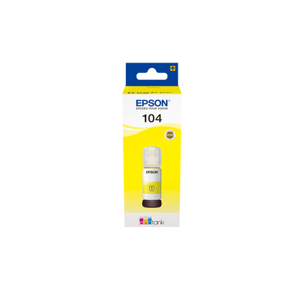 Epson 104 EcoTank - Geel