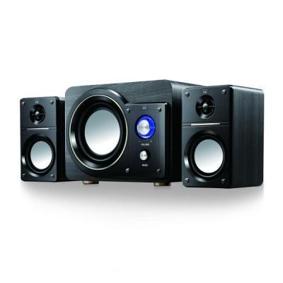 Ewent luidspreker set: 1x 30W, 60Hz - 200Hz, 2x 5W, 150Hz - 20KHz - Zwart