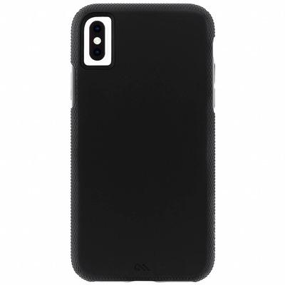 Tough Grip Backcover iPhone Xs Max - Zwart / Black Mobile phone case