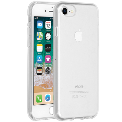 Accezz Clear Backcover iPhone SE (2020) / 8 / 7 / 6s / 6 - Transparant Mobile phone case