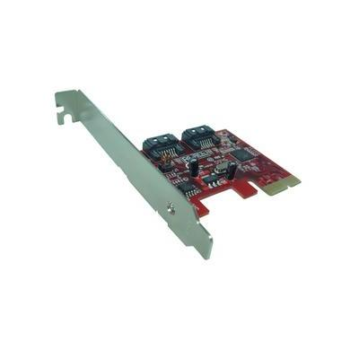 LyCOM SATA III – 6Gbps 2Ports Low Profile PCIe 2.0 Host Adapter Interfaceadapter