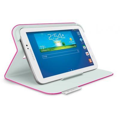 Logitech tablet case: Folio Protective Case, Samsung Galaxy Tab 3 7.0 - Roze