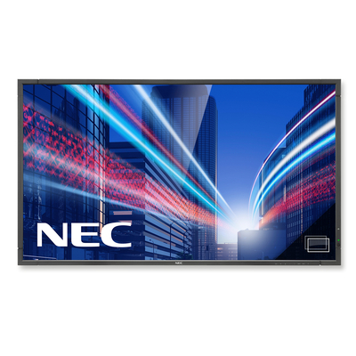 NEC MultiSync P801 PG Public display - Zwart