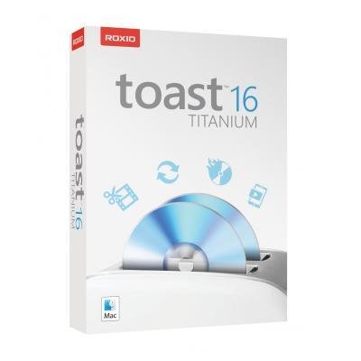 Roxio algemene utilitie: Toast 16.0 Titanium (English)  MAC