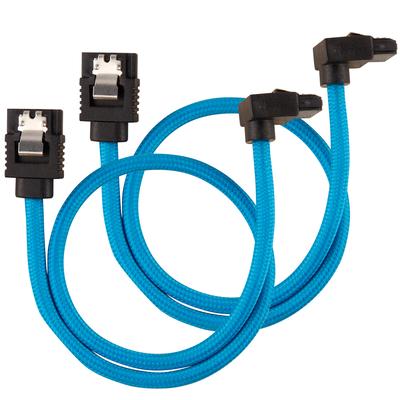 Corsair CC-8900281 ATA kabel - Zwart, Blauw