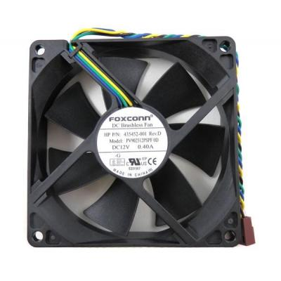 HP 92mm 4-pin cooling CPU fan Hardware koeling - Zwart - Refurbished ZG