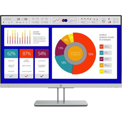 HP EliteDisplay E243p Monitor - Zwart, Zilver - Demo model