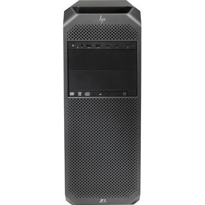 HP Z Workstation Z6 G4 TWR Xeon Silver 4108 32GB RAM 256GB SSD Pc - Zwart