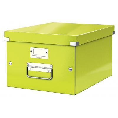 Leitz archiefdoos: Click & Store middelgrote doos - Groen