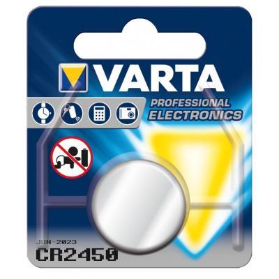 Varta batterij: -CR2450 - Zilver