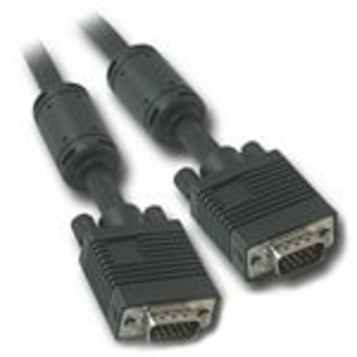 C2g VGA kabel : 30m Monitor HD15 M/M  Cable - Zwart