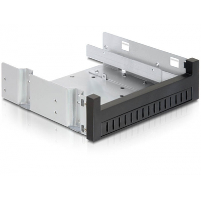 DeLOCK 5.25 Installation Frame for 1 x 5.25 Slim drive + 1 x 2.5 or 3.5 HDD Montagekit