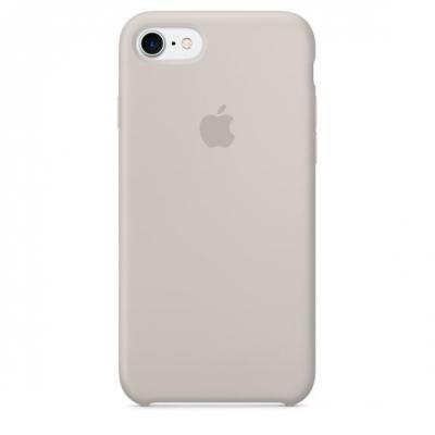 Apple mobile phone case: Siliconenhoesje voor iPhone 7 - Steengrijs