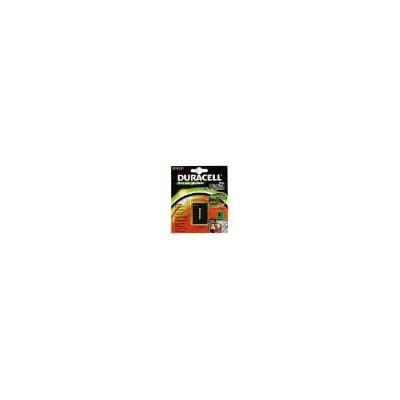 Duracell batterij: Digital Camera Battery 3.7v 1000mAh - Zwart