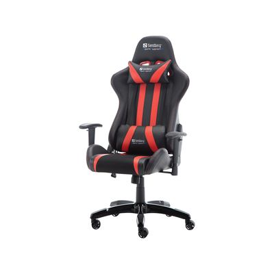 Sandberg Commander Gaming Chair Black/Red Stoel