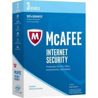 Mcafee software: Internet Security 2017