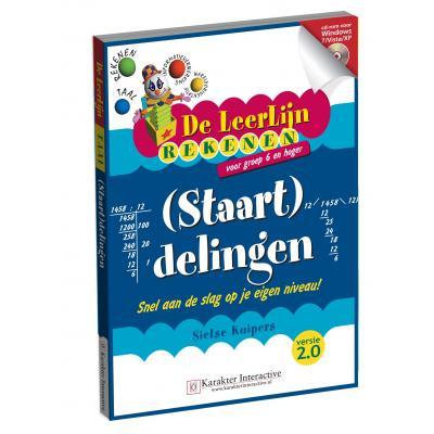 Karakter educatieve software: Leerlijn Rekenen, (Staart) Delingen voor Groep 6 t/m 8