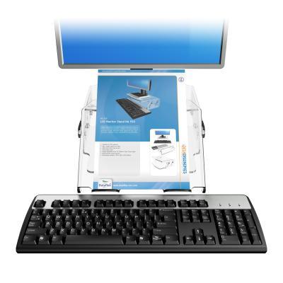 Dataflex archiefdoos: Addit monitorverhoger - verstelbaar 570 - Transparant