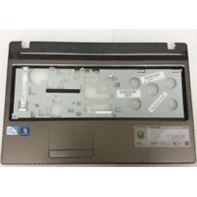 Acer notebook reserve-onderdeel: Top Case, Black/Silver - Zwart, Zilver