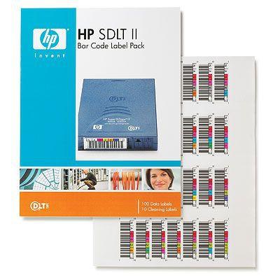 Hewlett Packard Enterprise HP SDLT II Bar Code Labels Barcode label