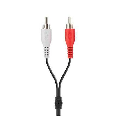 Belkin Portable Y Audio Cable 1m - Zwart