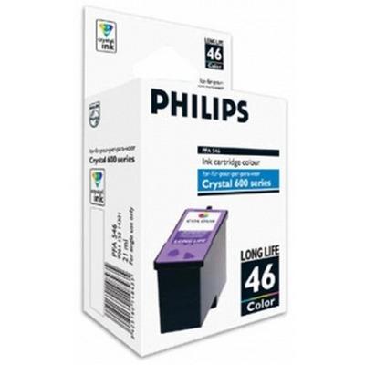 Philips Crystal 46 Inktcartridge - Cyaan,Magenta,Geel
