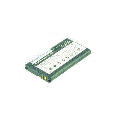 2-Power Mobile Phone Battery 3.7V 2250mAh BlackBerry N-X1 Mobile phone spare part - Zwart