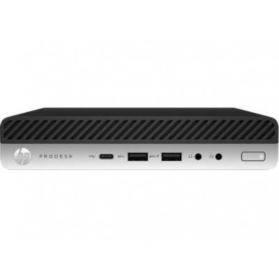 Hp pc: ProDesk 600 G3 Mini - Zwart, Grijs