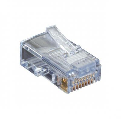 Black Box CAT5e EZ-RJ45 Modular Plugs, 25-Pack Kabel connector - Transparant