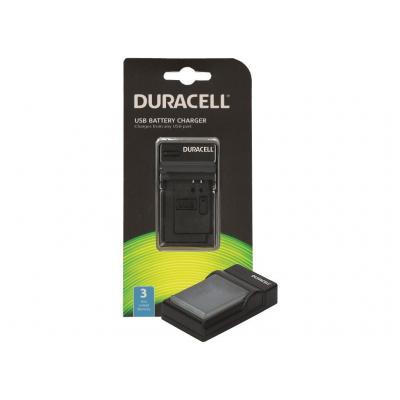 Duracell Camcorder Battery Charger Oplader - Zwart