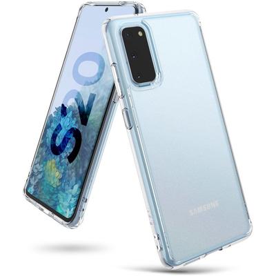 Ringke Fusion Matte Backcover Samsung Galaxy S20 - Transparant - Transparant / Transparent Mobile phone case