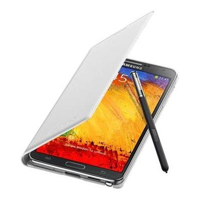 Samsung mobile phone case: Flip voor Galaxy Note 3, Wit