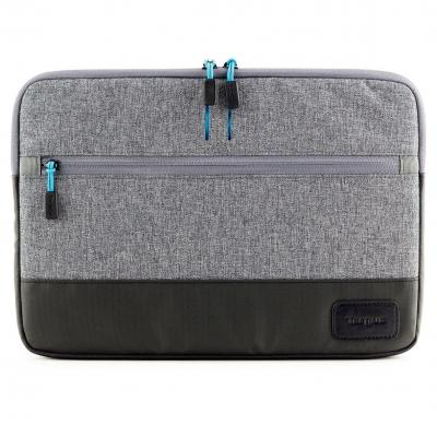 Targus laptoptas: Strata - Zwart, Blauw, Grijs