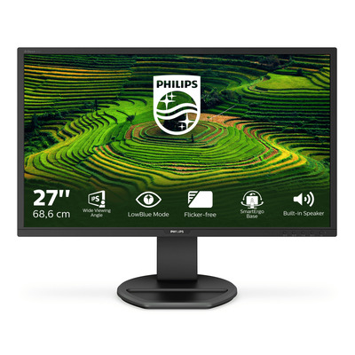 Philips B-Line LCD Monitor - Zwart