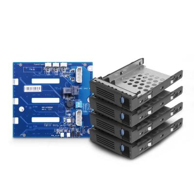 "Chenbro Micom HDD Kit, 4x3.5"" HDD trays, w/4-port 12Gbps mini-SAS HD backplane"