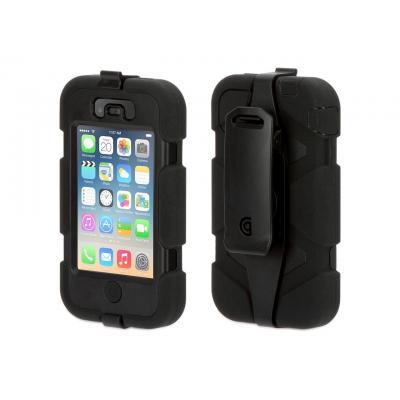 Griffin mobile phone case: Survivor - Zwart