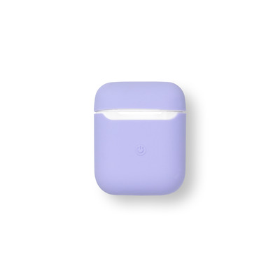 ESTUFF AirPods Silicone Case Pale Koptelefoon accessoire - Paars