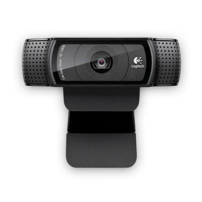 Logitech webcam: HD Pro C920 - Zwart