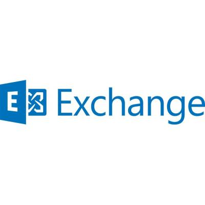Microsoft software licentie: Exchange Server 2016, STD, SNGL, OLP, NL, UsrCAL