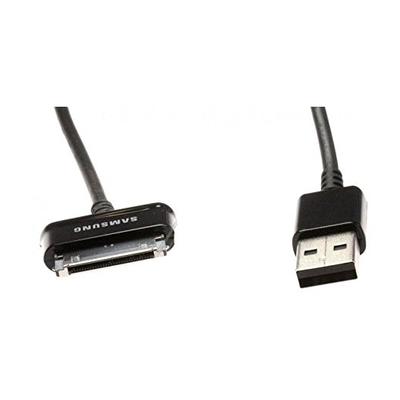 Samsung kabel: USB 2.0/30-pin - Zwart