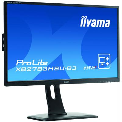 "Iiyama ProLite XB2783HSU-B3 27"" Full HD AMVA+ - Business Monitor - Zwart"