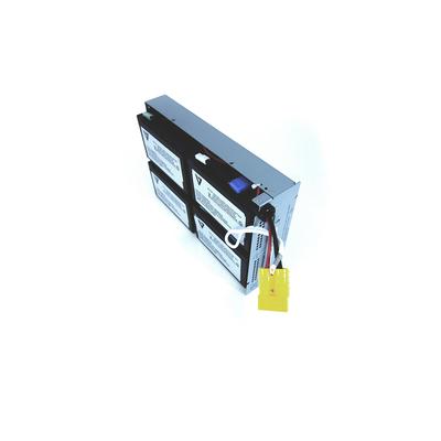 V7 RBC24 UPS UPS batterij - Zwart,Metallic