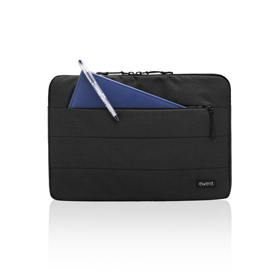 Ewent City Sleeve laptoptas - Zwart