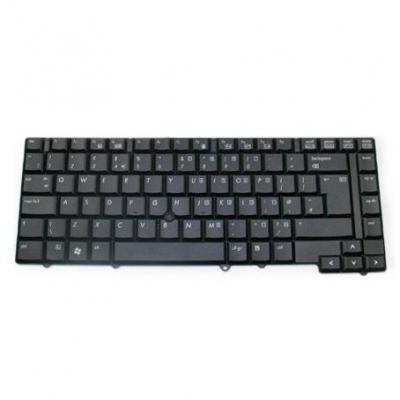 HP Keyboard assembly - Includes keyboard cable, keyboard shield, pointing stick, and pointing stick cable (United .....