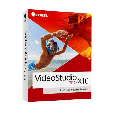 Corel grafische software: Corel, VideoStudio X10 Pro (Dutch / French)