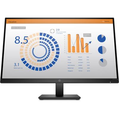 HP P27q G4 QHD Height Adjust Monitor - Zwart