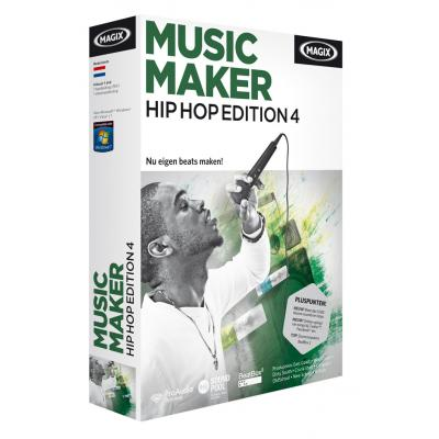 Magix audio software: Magix, Music Maker, Hip Hop Edition 4
