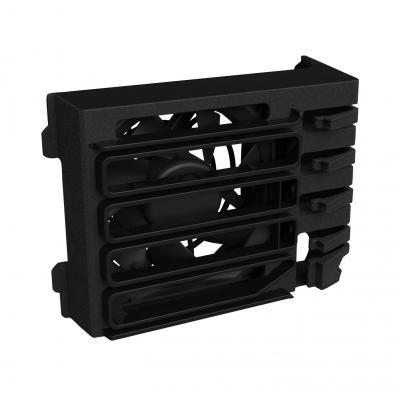 Hp Hardware koeling: Z440 Fan & Front Card Guide Kit - Zwart