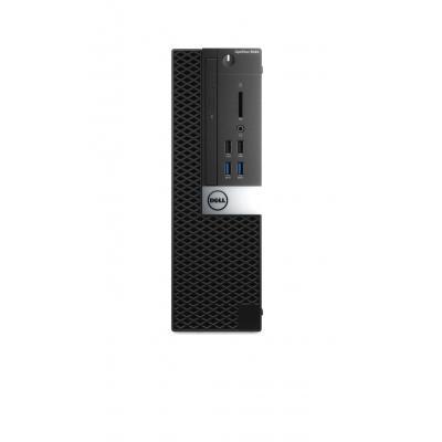 DELL pc: OptiPlex 5040 - Core i5 - 8GB RAM - 500GB - Zwart