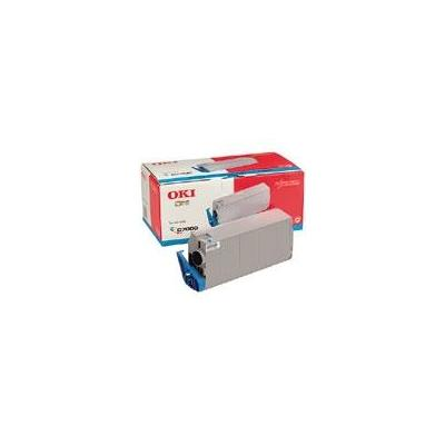 OKI cartridge: Cyan Toner Cartridge voorpage C7200/C7400 - Cyaan